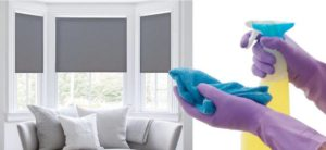Cleaning Roller Blinds